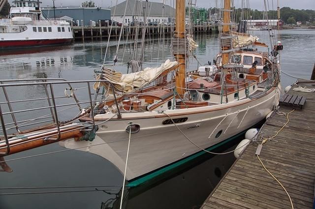 1983 Stadel Schooner Purchase New England