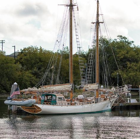 1983 Stadel Schooner Broker Buy