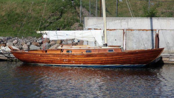 Nordic Folkboat - (Fully Restored) Restored Nordic Folkboat - On her berth