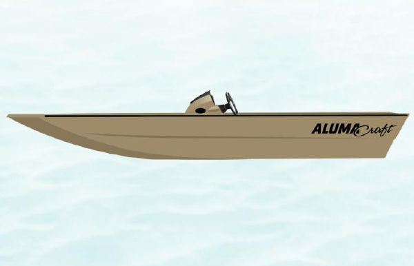 2022 Alumacraft 2072 All Weld MV SC