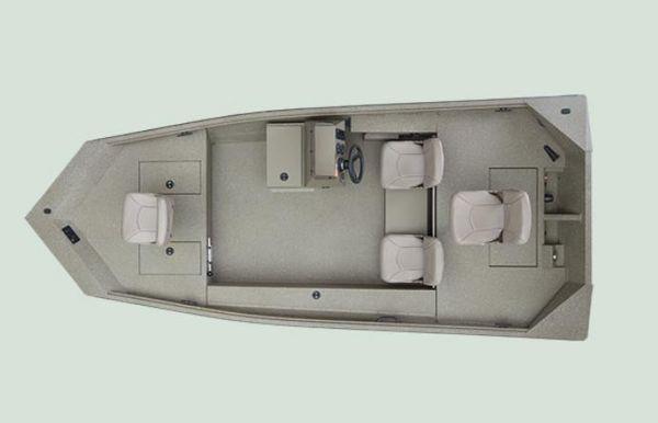 2022 Alumacraft 1650 All Weld MV SC