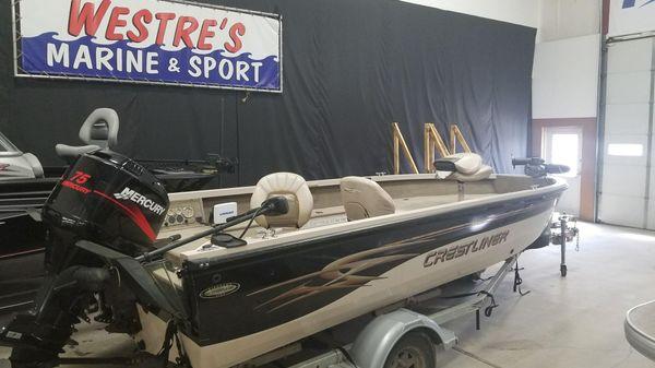 Crestliner 1750 Fish Hawk Tiller