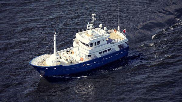 Aluship Vripack Trawler Explorer Vessel 79 Exterior Aluship Explorer Vessel 79