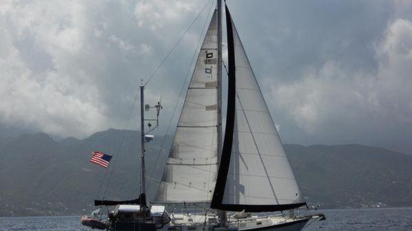 Pearson 424 Ketch Anastasia under sail