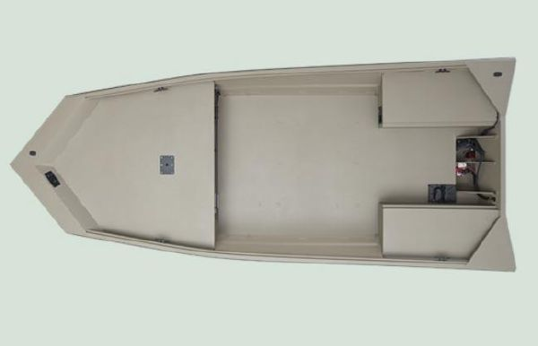 2022 Alumacraft 2072 All Weld MV Tiller