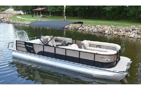 2021 Bentley Pontoons 250 Elite Swingback Bench