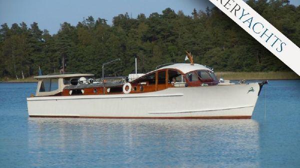 Reimers yacht 1939, Hjorten The beautiful mahogany classic M/Y Hjorten