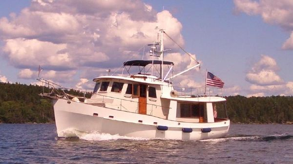 Kadey Krogen Pilot House Trawler