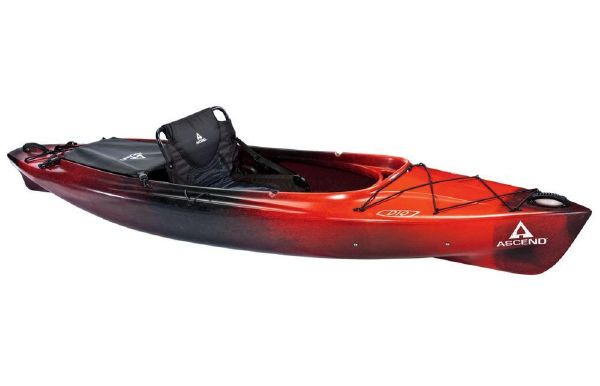 2018 Ascend D10 Sit-In (Red/Black)