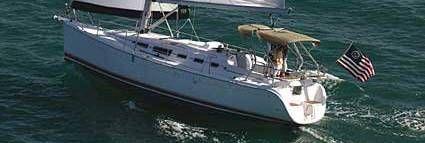 Hunter 38 Sister Ship Sailing