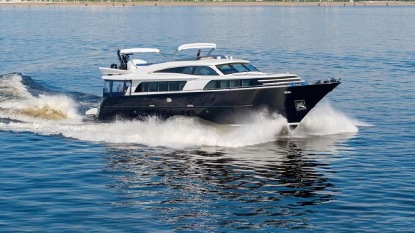 Wim Van der Valk RAISED PILOTHOUSE