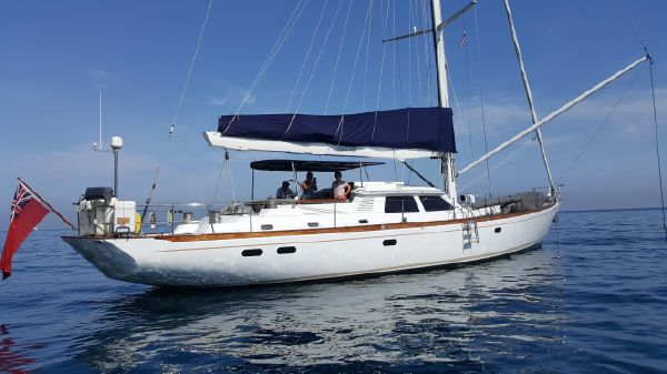 Ron Holland 72 foot Sloop