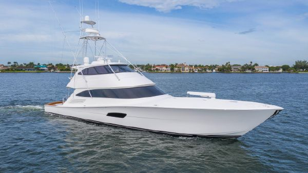 Viking 92 Enclosed Bridge Sportfish