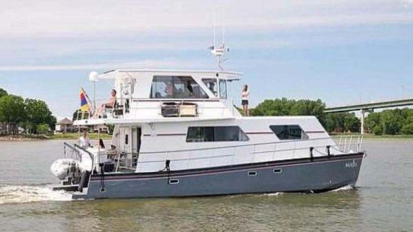 Custom Artisanal Power Catamaran