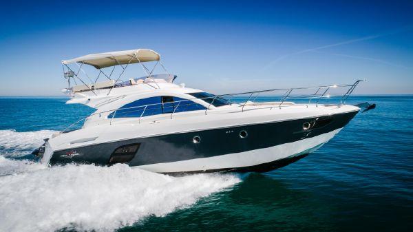 Beneteau 49 GT FlyBridge Profile Stbd