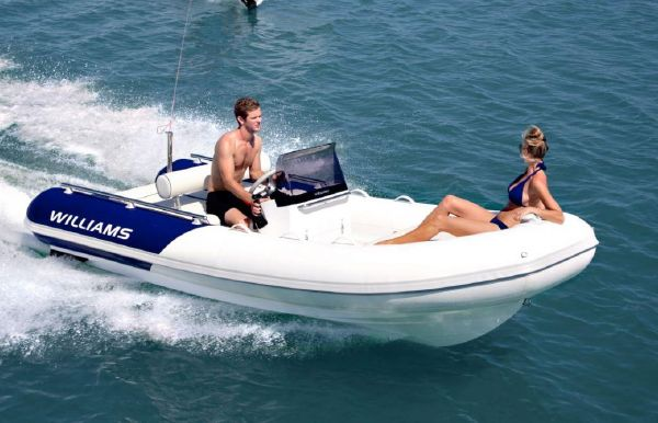 2017 Williams Jet Tenders Sportjet 460