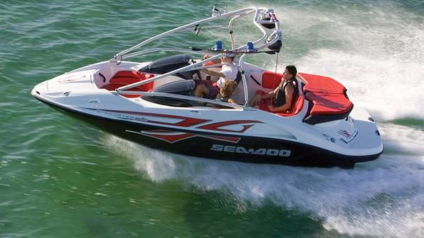 Sea-Doo Sport Boats Speedster Wake