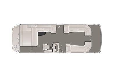 2020 Bennington R 28 RSB X1 I/O Wide-Beam