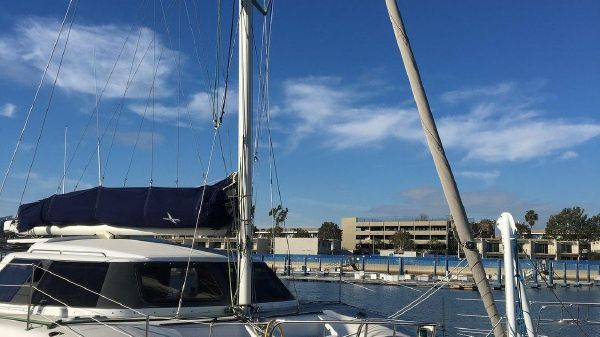 Seawind 1000 XL At the Dock