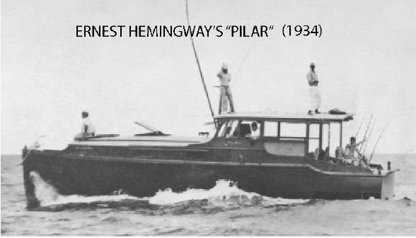 Hemingway Pilar Exact Replica  image