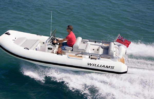 2017 Williams Jet Tenders Dieseljet 505