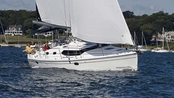 Hunter 45 Deck Salon Manufacturer Provided Image: Hunter 45 DS
