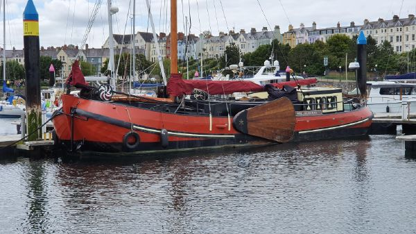Classic Dutch Sailing Barge