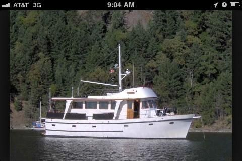 Cheoy Lee 46 Long Range Cruiser Trawler