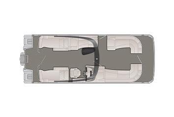2020 Bennington R 27 RCWA X2 Wide Beam