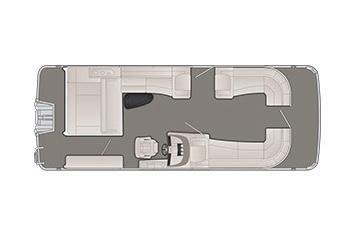 2020 Bennington R 25 RSB X1 Wide-Beam