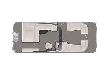 2020 Bennington R 25 RSBA X1 Wide-Beam