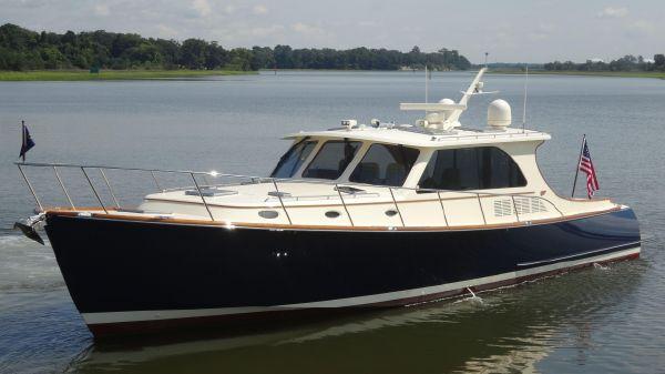 Hinckley Talaria 48 Motoryacht Shooters Waterfront