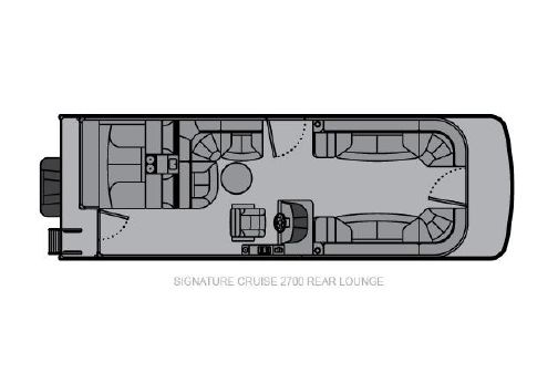 Landau Signature 2700 Cruise Rear Lounge image