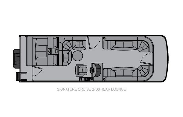 2020 Landau Signature 2700 Cruise Rear Lounge