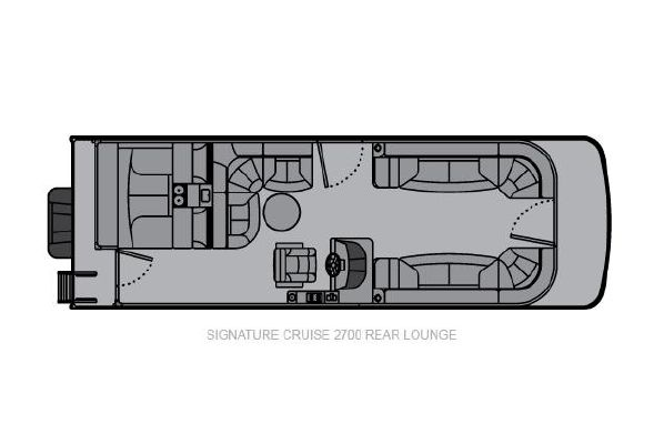 Landau Signature 2700 Cruise Rear Lounge - main image
