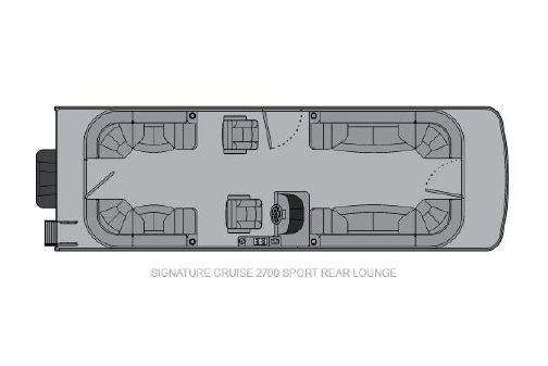 Landau Signature 2700 Cruise Sport Rear Lounge image