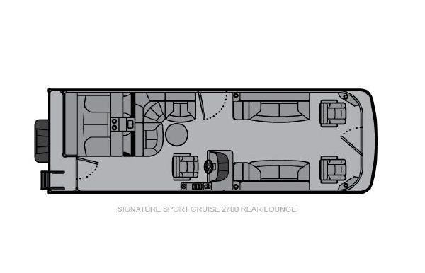 2020 Landau Signature 2700 Sport Cruise Double Rear