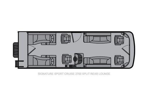Landau Signature 2700 Sport Cruise Split Rear image