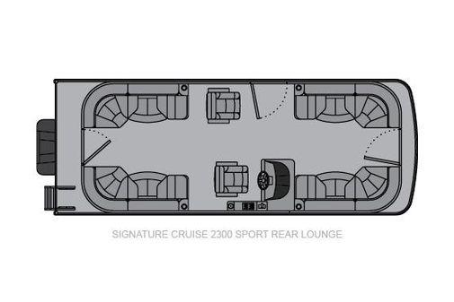 Landau Signature 2300 Cruise Sport Rear Lounge image