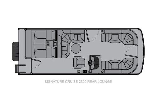 Landau Signature 2500 Cruise Rear Lounge image