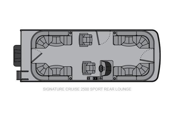 Landau Signature 2500 Cruise Sport Rear Lounge image