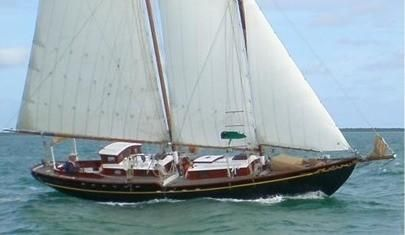 Custom VanDine Topsail Schooner