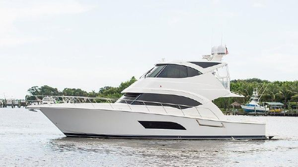 Riviera 53 Enclosed Bridge Port Profile