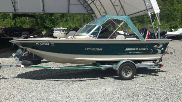 Smoker Craft 175 Ultima