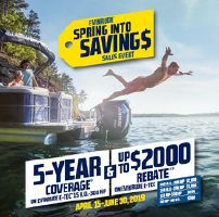 Evinrude  E-TEC G1 & G2 EVINRUDE E-TEC SPRING INTO SAVINGS RETAIL EVENT
