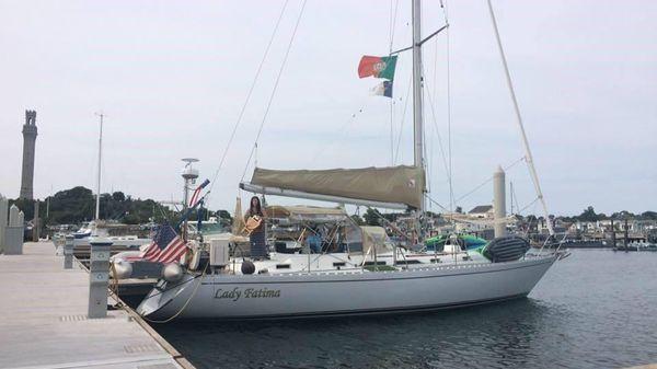 Hylas 47 At Dock