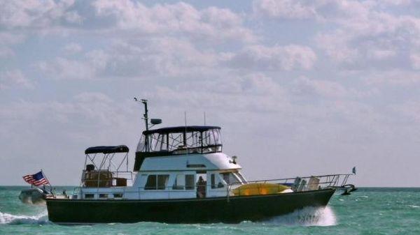 Sabreline 47 Aft Cabin Cruising in the Caribbean