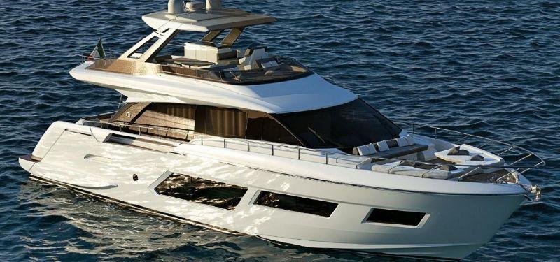 Ferretti Yachts 670 - main image