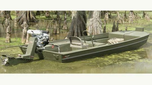 Go-Devil 16x54 Surface Drive Boat
