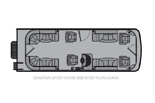 Landau Signature 2500 Sport Cruise Sport Rear Lounge image